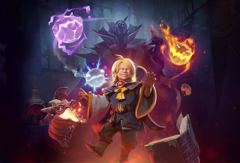 Acolyte of the Lost Arts — Invoker Hero Persona