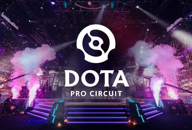 فصل زمستانه 2021 The Dota Pro Circuit